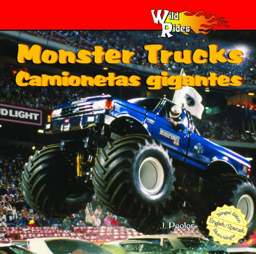 MonsterTrucks/Camionetas Gigantes (Wild Rides) (English and Spanish Edition) by Powerkids Pr (Image #2)