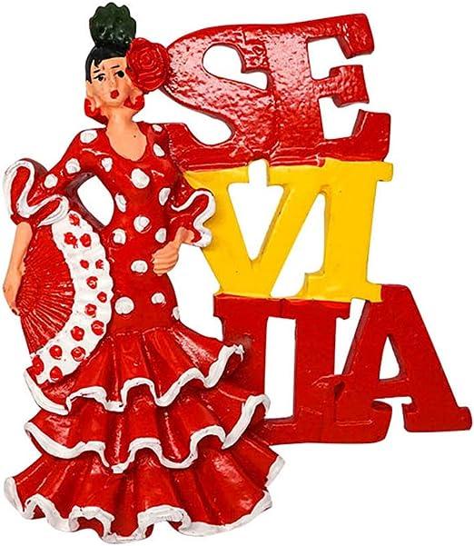 Bailarina de Flamenco, Sevilla, España | 3D Imanes para ...