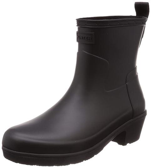 b165a068bca Hunter Boot Women's Refined Low Heel Ankle Rain Boot: Amazon.ca ...