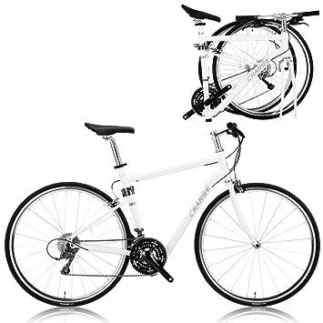 CHANGE de peso ligero de tamaño completo carretera plegable bicicleta Shimano 24 velocidades DF-702W