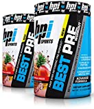 BPI Sports Best Ever Ketogenic Pre-Workout Supplement - 30 Servings, 11.11 Ounce (2 Pack) (Tropical Freeze)