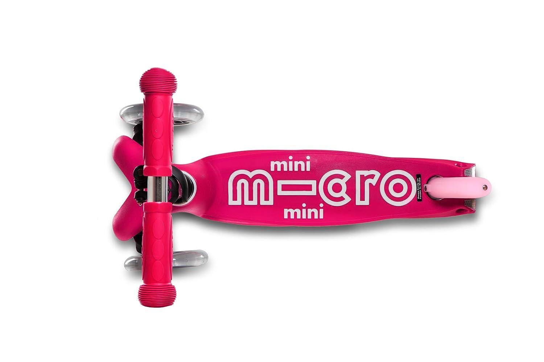 Micro Mini Deluxe - Patinete (2-5años), Aluminio, Rodamientos ABEC9, Plataforma Antideslizante, Manillar Regulable en Altura, Sistema inclínate y ...