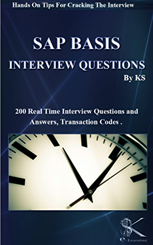 SAP BASIS INTERVIEW QUESTIONS: Hands On Tips For Cracking The Interview