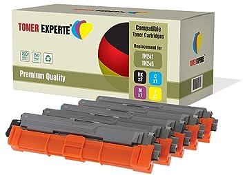 Pack de 5 TONER EXPERTE® Compatibles TN241 TN245 Cartuchos de ...