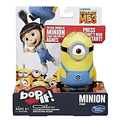 Bop It! Despicable Me Edition game: Toys & Games