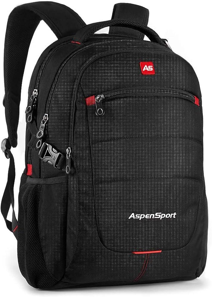 SwissGear 5358 USB ScanSmart Laptop Backpack. Abrasion-Resistant Travel-Friendly Laptop Backpack Exclusive Bundle with Lock