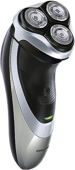 Philips PT860/16 Power Touch - Afeitadora eléctrica con cabezales flexibles DualPrecision, alimentado por batería, gris: Philips: Amazon.es: Electrónica