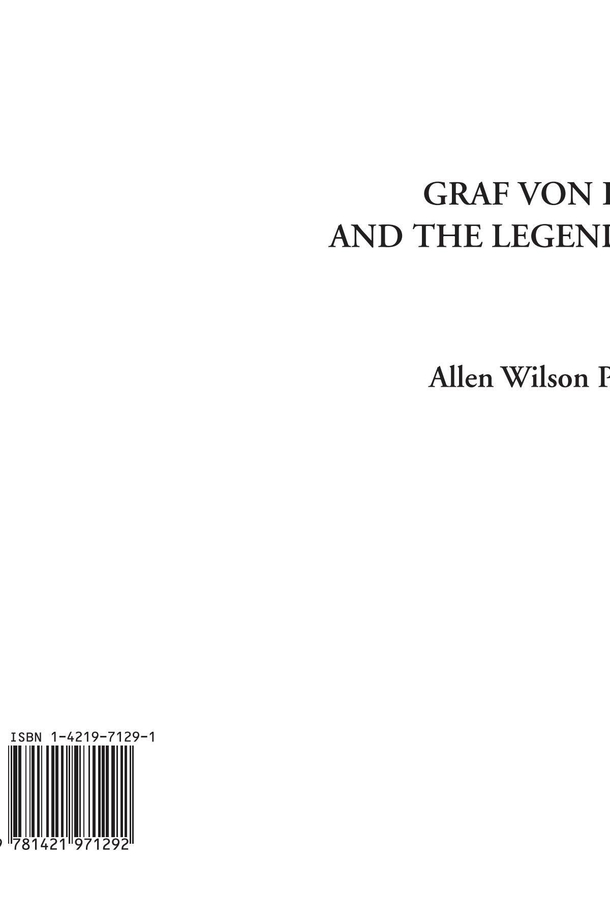 Download Graf von Loeben and the Legend of Lorelei pdf epub