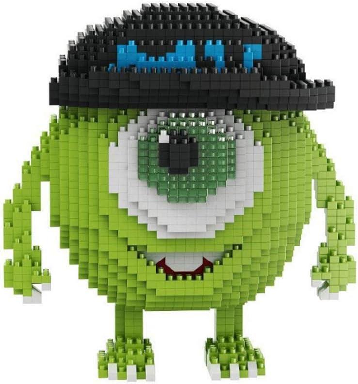 SKAJOWID Bloques De Construcción para Niños, Monstruo Nano Micro Blocks 3D Puzzle DIY Juguetes Modelo Brick Toy, Nano-Mini Building Blocks DIY Toys, Adecuado para Niños Mayores De 8 Años (1646Pcs)