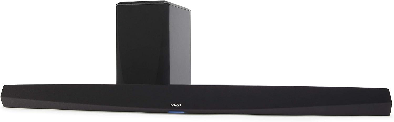 Denon HEOS テクノロジー搭載ワイヤレスサブウーハー付きサウンドバー DHTS516HK