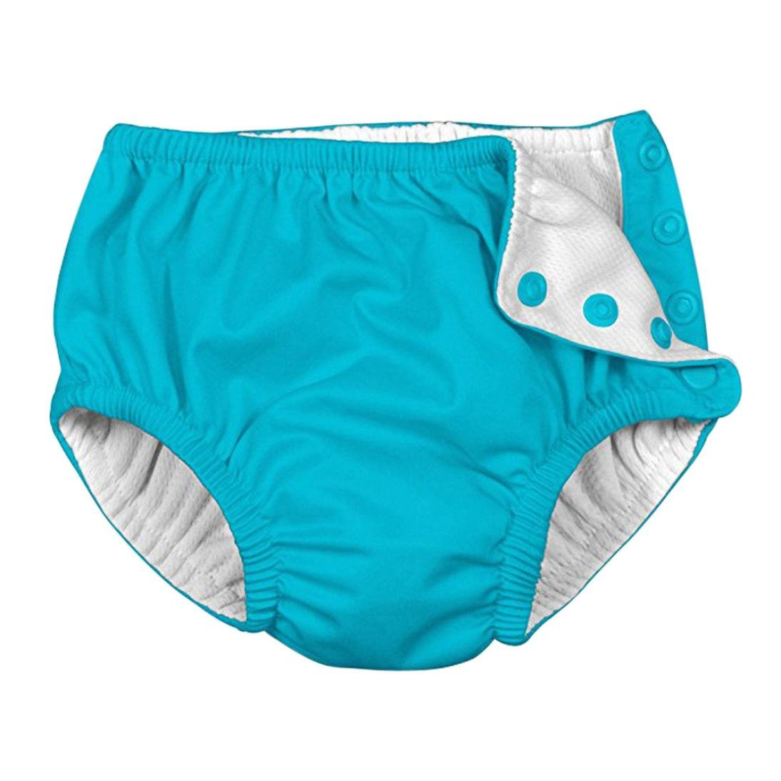 EnjoCho Baby /& Toddler Snap Reusable Absorbent Swimming Nappies Swim Diaper Size:3T, Hot Pink