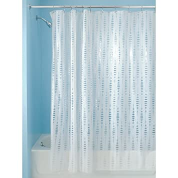 InterDesign Orbinni Vinyl Shower Curtain