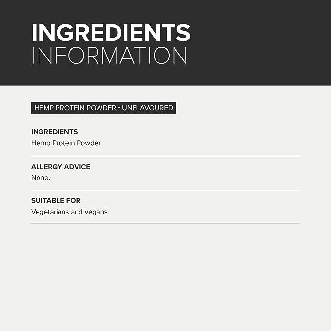Bulk Powders proteína de cáñamo: Amazon.es: Salud y cuidado ...