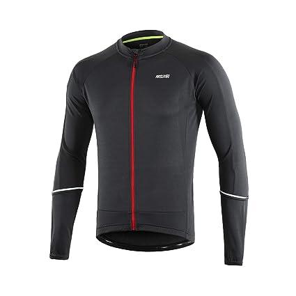 Amazon.com: Arsuxeo - Camiseta de ciclismo para hombre ...