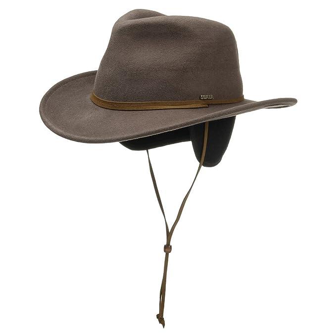 Cappello Traveller con Paraorecchie cappello feltro di lana cappello di  feltro XL 60-61 - oliva  Amazon.it  Abbigliamento 8e28774a2338