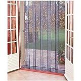 Rideau de porte moustiquaire Arles - 6 bandes - 160x220 cm
