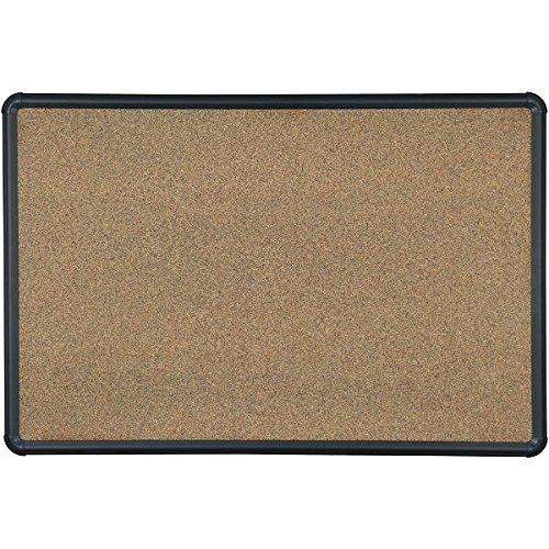 Wholesale Balt 2'H X 3'W Black Splash Cork Board for cheap