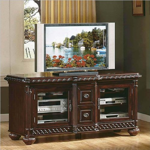 Antoinette Desk (Antoinette Solid Wood Flat Screen TV Stand with Hand Carved Detail)