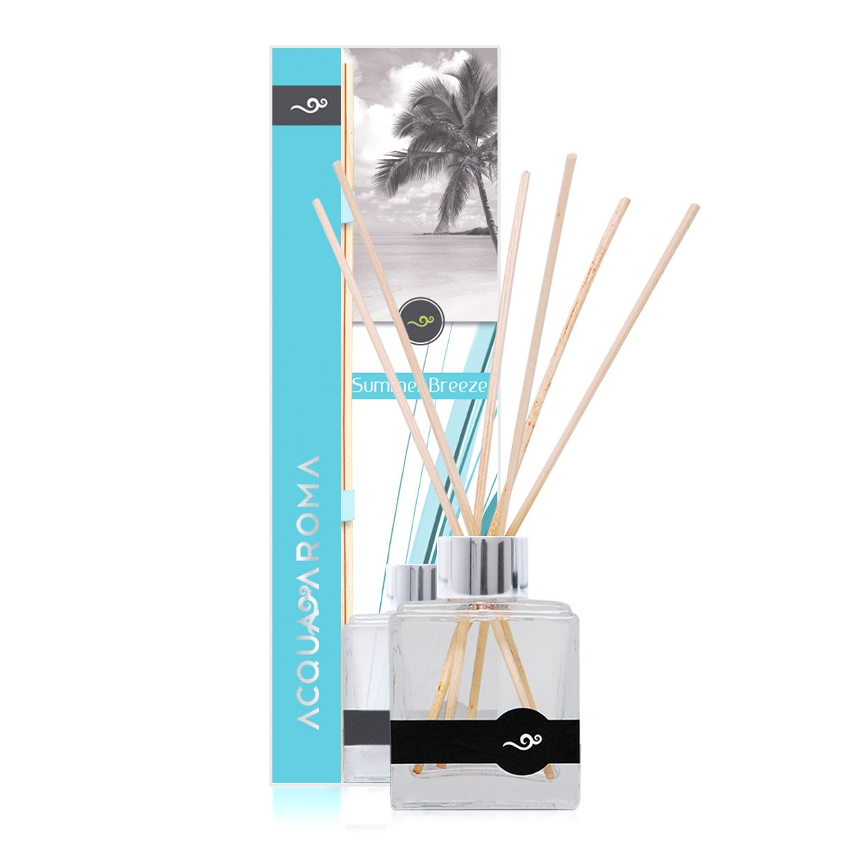 Acqua Aroma Summer Breeze Reed Diffuser 3.4 FL OZ (100ml) by Acqua Aroma