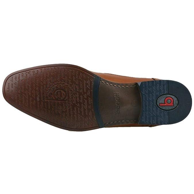 Bugatti Herren Business Schuhe Braun: : Schuhe