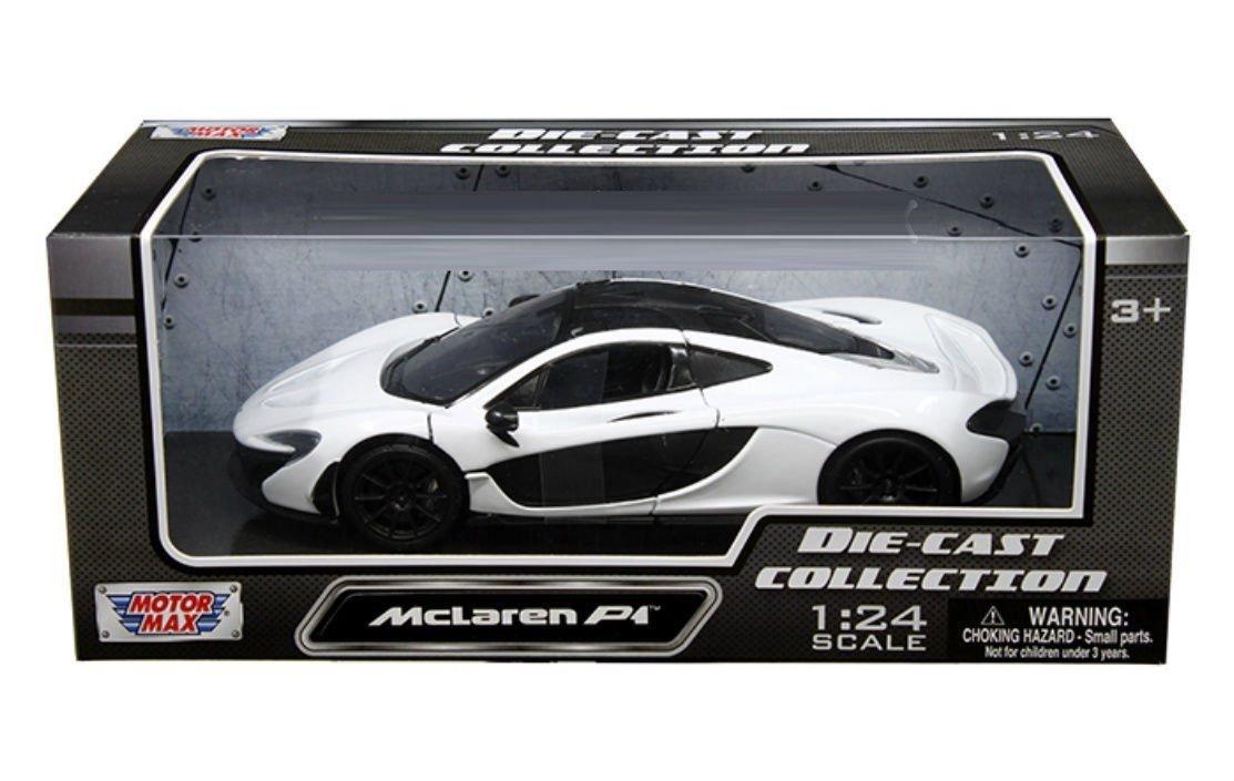 Motor Max 1 24 W B McLaren P1 Diecast Vehicle White