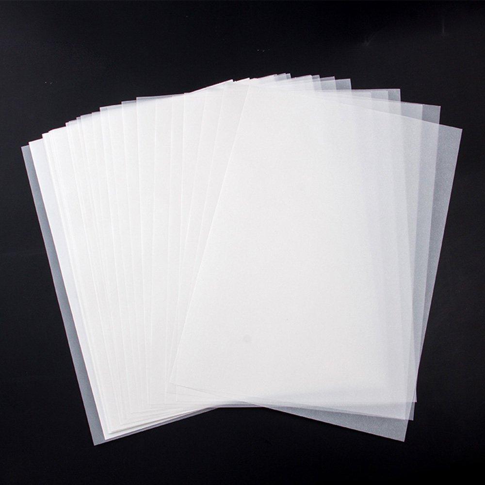 Mylifeunit 100fogli 30x 21cm morbido bianco traslucido carta da ricalco–non un chiaro trasparente TP16QH033