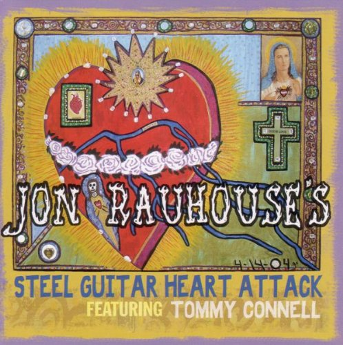 Jon Super-cheap Fort Worth Mall Rauhouse's Steel Heart Attack Guitar
