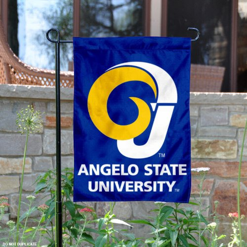 Angelo State Garden Flag and Yard Banner by College Flags and Banners Co.