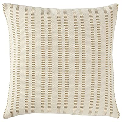 "Stone & Beam French Laundry Stripe Decorative Throw Pillow, 12"" x 24"", Ivory, Black -  - living-room-soft-furnishings, living-room, decorative-pillows - 61 YL7vvvvL. SS400  -"