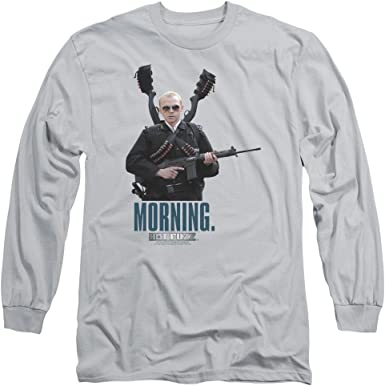 Hot Fuzz Movie MORNING Licensed Adult T-Shirt All Sizes