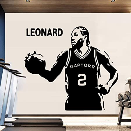 jiuyaomai Exquisito Baloncesto Toronto Raptors House Decor Vinilo ...