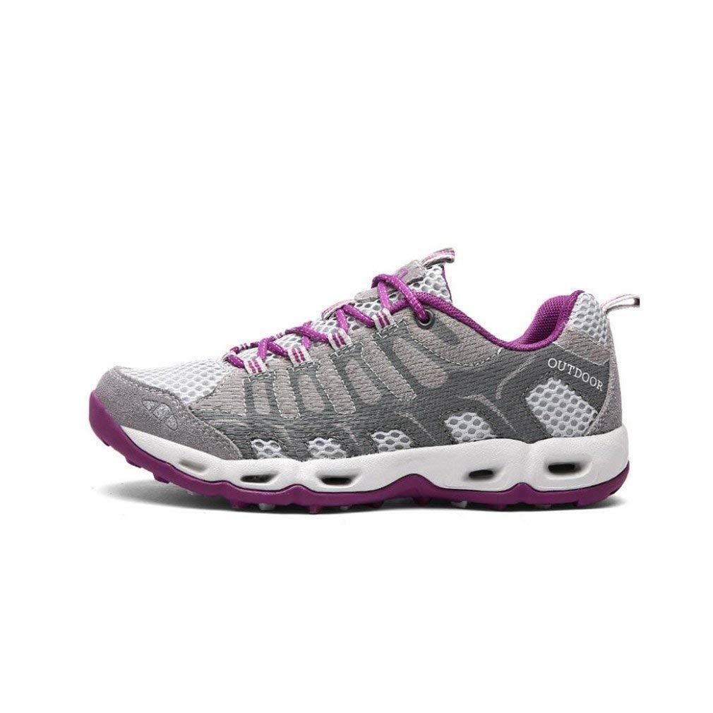 HhGold Wanderschuhe Outdoor Wanderschuhe für Frauen Atmungsaktive Wanderschuhe Leichte Sommerschuhe Gummisohle Trekking Täglichen Gebrauch Paar Schuhe (Farbe   B Größe   38)