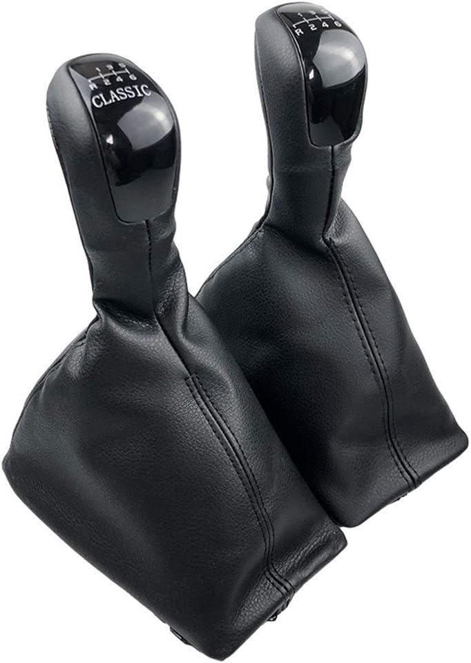 Schalthebel Fit for Mercedes Benz E-Klasse W211 S211 2002-2009 Handbuch Schaltknauf Gamasche Boot-Feder-Handgriff-Abdeckung Classic Elegance AVANTGARDE Color Name : Elegance