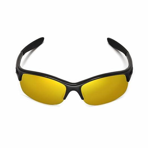 Walleva Ersatzgläser für Oakley Commit SQ Sonnenbrille - Mehrere Optionen (Titan Mirror Coated - Polarisiert) EKGyQ