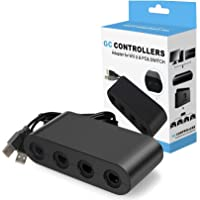 Controller Adapter for Gamecube, Super Smash Bros 4 Port Adapter for Wii U, Nintendo Switch, PC. No Need Driver and Easy…