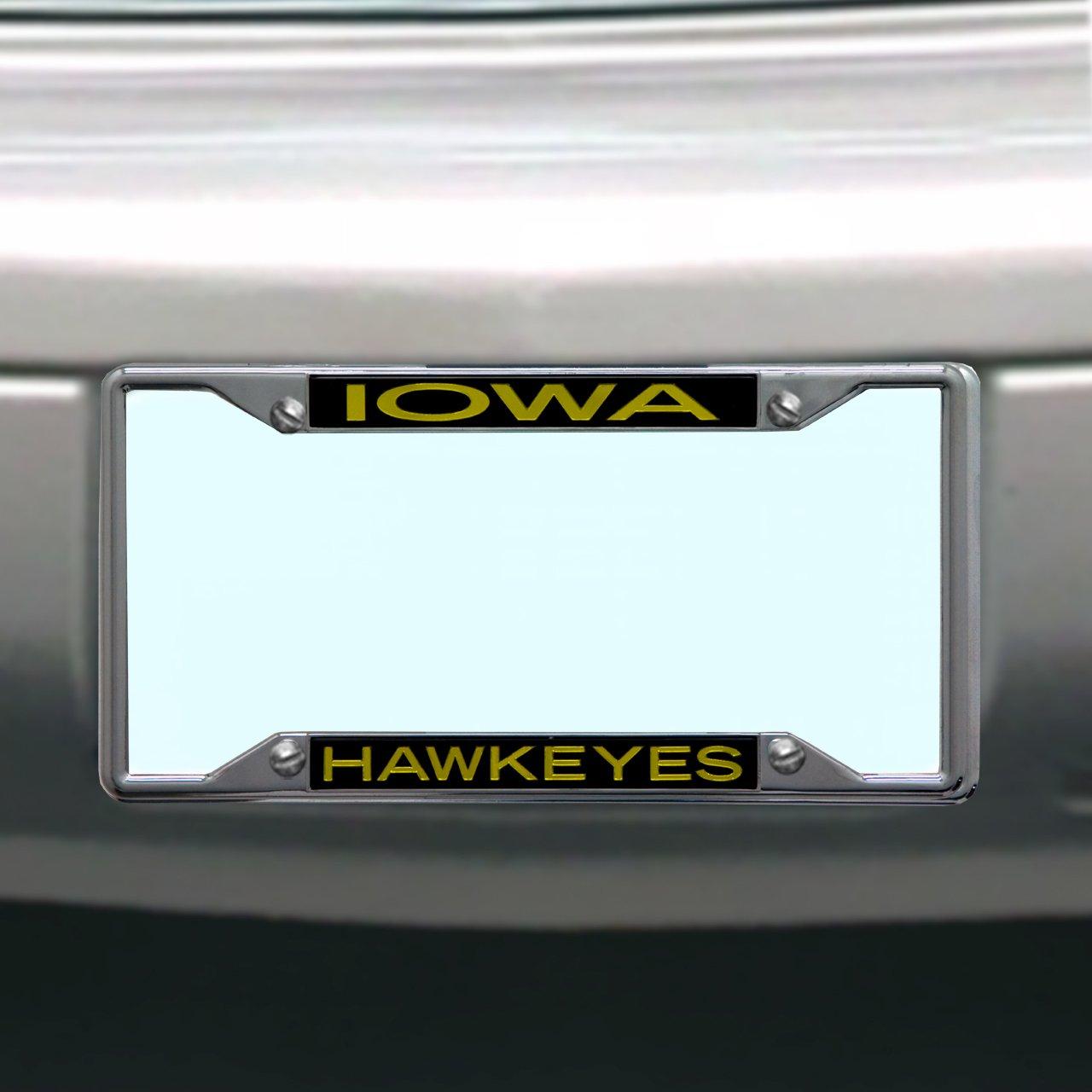 NCAA Iowa Hawkeyes License Plate Frame Wincraft S84976