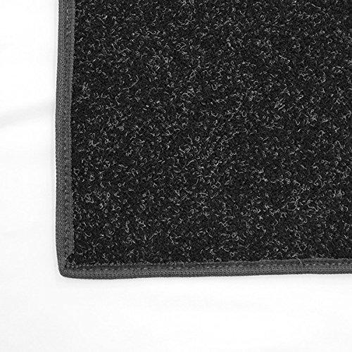 12'x50' Black Stallion - Economy Indoor / Outdoor Carpet Area Rugs | Light Weight Spun Olefin Reliably Comfortable Indoor / Outdoor Rug