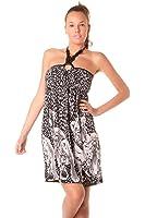 Damen Bandeau Kleid M Neckholder Kleid M Sommerkleid 38 Strandkleid M
