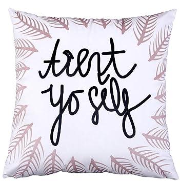 Sofá almohada almohada simple sofá almohada letra plaza cama ...