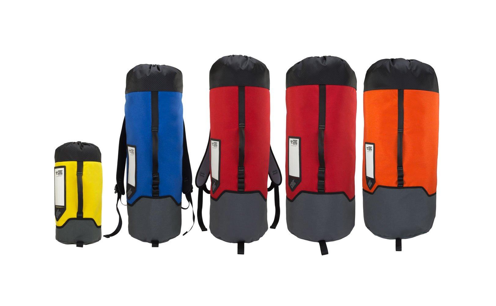 CMC Rescue 430403 Rope Bags Model #4 - 2600 ci (43 L) Red