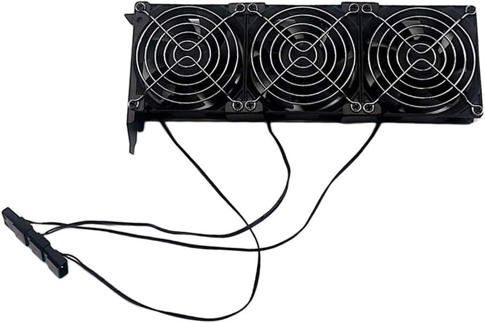 VGA Radiator Cooling System PCI Slot Triple 90mm Fans Graphic Card Fan GPU Cooler