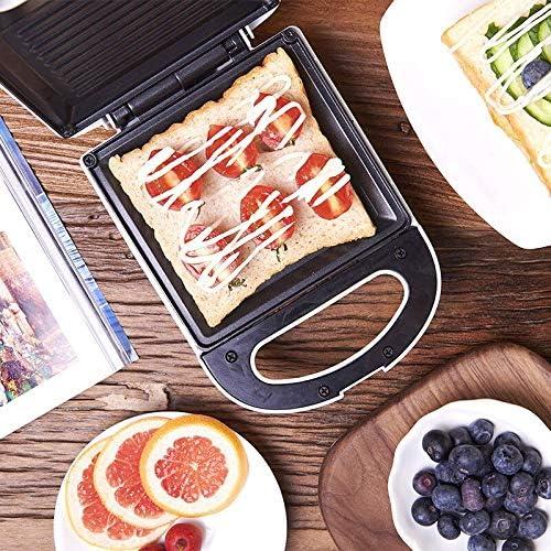 shenlanyu Casserole Sandwich Maker Rôtissoire 650 W Électrique Gaufres Maker Bulle Oeuf Gâteau Four Grill Viande Barbecue Steak Bifteck Poêle Machine Petit Déjeuner