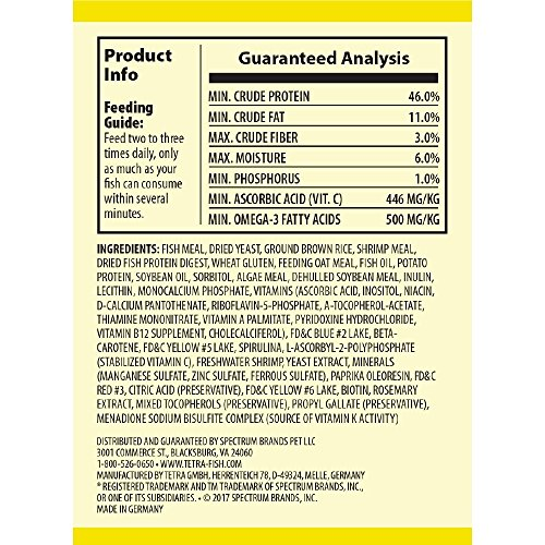 Image of TetraMin Nutritionally Balanced Tropical Flake Food for Tropical Fish