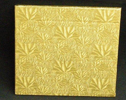 Cake Fold Under Board - Cake Fold-under Board, Square, Gold, 1/2