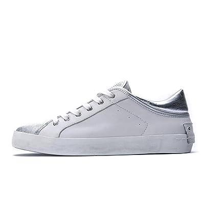 CRIME London Damen Sneaker Weiß Bianco, Weiß - Bianco - Größe: 41 EU