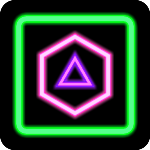 (Neon Poly - Shape Puzzle Game)