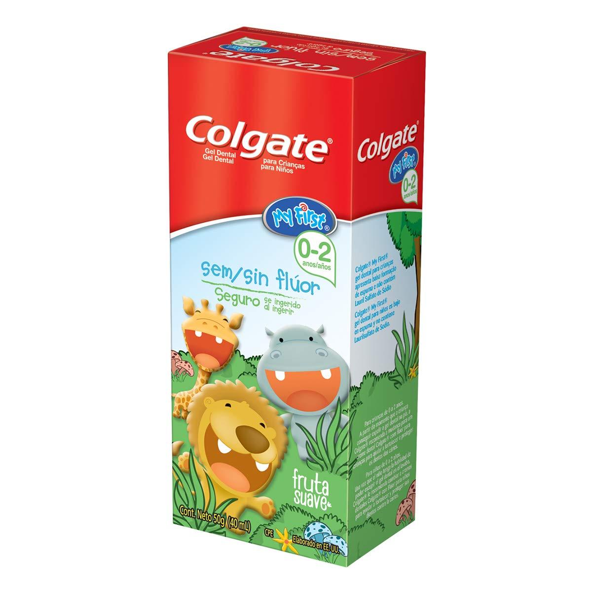 b37af23a5 Colgate My First Gel Dental sin Flúor, 0 a 2 Años: Amazon.com.mx: Salud,  Belleza y Cuidado Personal