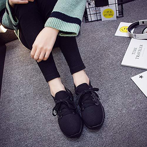 Hasag Zapatos Deportivos Zapatos Rojos pequeños Zapatos Negros pequeños Zapatos Informales de Moda black