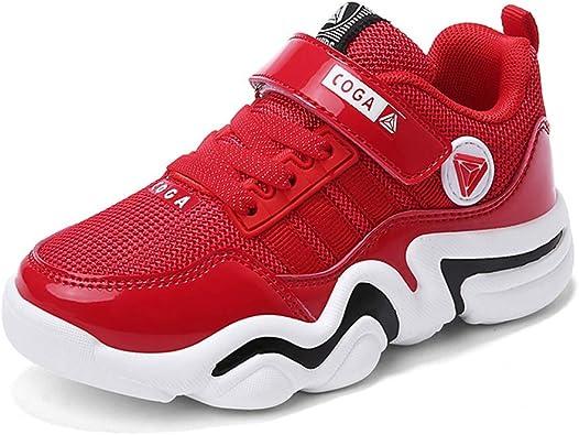 Zapatos de Malla de Aire para niños Cinta mágica Sin resbalón ...