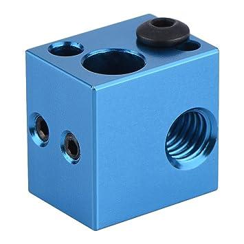 Eboxer 3D Printer Parts Bloque Calefacción Aleación de Aluminio ...